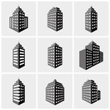 Byggnadssymboler Arkivbilder