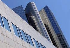 byggnadstelekommunikationtelefon Arkivbild