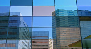 byggnadstelekommunikationtelefon Arkivbilder