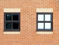 byggnadsväggfönster Royaltyfria Bilder