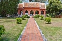 byggnadsvägstil som är thai till fotografering för bildbyråer