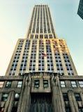 byggnadsväldemanhattan nytt tillstånd USA york Royaltyfria Foton