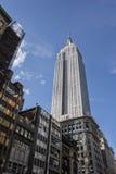 byggnadsväldemanhattan nytt tillstånd USA york Arkivfoto