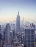 byggnadsväldemanhattan nytt tillstånd USA york arkivfoton