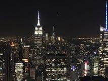 byggnadsväldemanhattan nytt tillstånd USA york royaltyfri foto