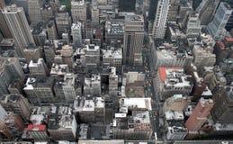 byggnadsväldemanhattan tillstånd arkivbilder