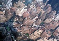 byggnadsväldemanhattan tillstånd Arkivfoto