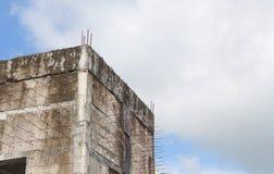 Byggnationbransch på framkallning för byggnadsplats av modernt royaltyfria foton