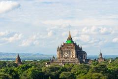That Byin Nyu monastery reconstruction after earthquake, Bagan, Stock Photos