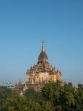 That Byin Nyu pagoda in Bagan in the morning Stock Image