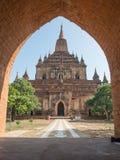 That Byin Nyu pagoda in Bagan Stock Photos