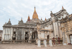 That Byin Nyu Temple and other temples in Bagan Royalty Free Stock Images