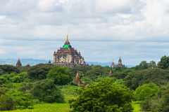 That Byin Nyu temple reconstruction after earthquake, Bagan anci Royalty Free Stock Image