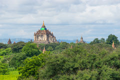 That Byin Nyu temple reconstruction after earthquake, Bagan , Ma Royalty Free Stock Images