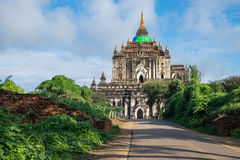 That Byin Nyu temple, tallest temple in Bagan ancient city, Mand Stock Image