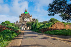 That Byin Nyu temple, tallest temple in Bagan ancient city, Mand Stock Images