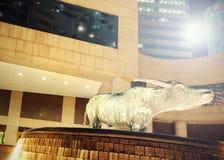 byk statua fotografia stock