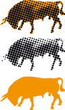 byka feria Seville hiszpański ilustracja wektor