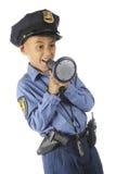 Byka rogu policjant Obraz Royalty Free