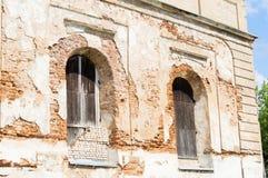 Bykhovskaya犹太教堂-建筑学,巴洛克式的样式的纪念碑 免版税库存图片
