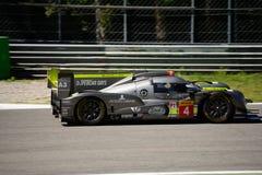 ByKolles участвуя в гонке испытание прототипа LMP1 на Монце Стоковые Изображения