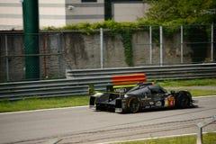ByKolles участвуя в гонке испытание прототипа LMP1 на Монце Стоковое Фото