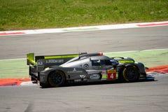 ByKolles som springer provet för prototyp LMP1 på Monza Royaltyfria Bilder