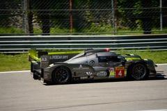 ByKolles som springer provet för prototyp LMP1 på Monza Arkivfoto