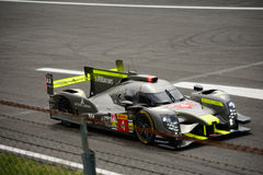 ByKolles som springer provet för prototyp LMP1 på Monza Royaltyfri Bild