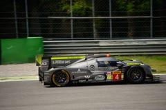 ByKolles som springer provet för prototyp LMP1 på Monza Royaltyfri Fotografi