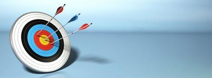byków oko strzelający pomyślny Obrazy Stock