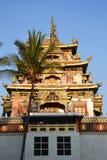 Bylajkuppe Tibetan monastery in India Stock Photography