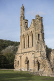 Byland Abbey Ruins, North Yorkshire, England Stock Photography