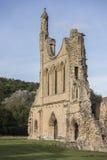 Byland Abbey Ruins, North Yorkshire, Inglaterra Fotografía de archivo
