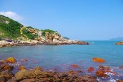 Byland of seaside Royalty Free Stock Photo