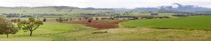 Bylong Valley Australia Royalty Free Stock Images