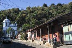 Byn av Befruktning de Ataco på El Salvador Royaltyfria Foton