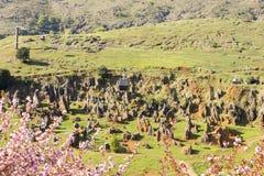 Byn av Cabarceno arkivfoton