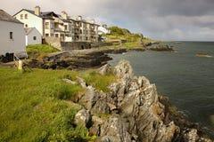 Byn av Greencastle Inishowen Donegal ireland royaltyfri foto