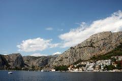 Byn i Kroatien Arkivbilder