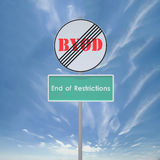 BYOD End restriction Royalty Free Stock Photo