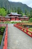 Byodo-in Boeddhistische Tempel Stock Foto's