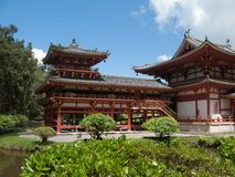 Byodo-in Buddhist temple. Royalty Free Stock Photography