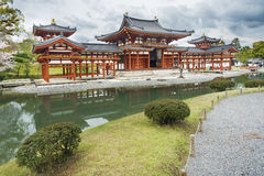 Byodo-in Buddhist temple in Japan Royalty Free Stock Photo