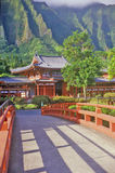 Byodo-In Buddhist Temple, Maui, Hawaii Royalty Free Stock Photo