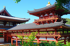 Byodo-in Buddhist temple, Uji, Japan Royalty Free Stock Photography