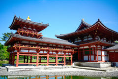 Byodo-in Buddhist temple, Uji, Japan Royalty Free Stock Photo