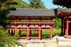 Byodo-in Buddhist temple, Uji, Japan Royalty Free Stock Image