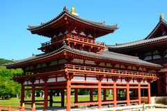 Byodo-in Buddhist temple, Uji, Japan Stock Photography