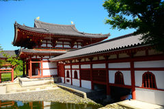 Byodo-in Buddhist temple, Uji, Japan Royalty Free Stock Images